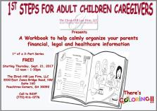 1ST STEPS FOR ADULT CHILDREN CAREGIVERS